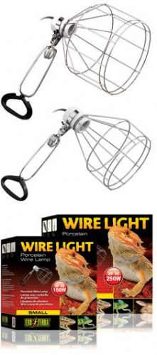 Wire Clamp Lamp Holder
